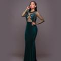A solemn dress